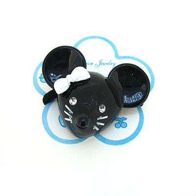 小老鼠可爱头饰简笔画