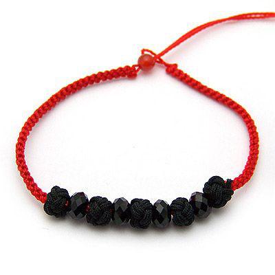 红绳子手链编法,绳子手链,编绳子手链 方法图解,编红 ...